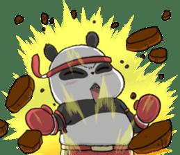 Muay Thai Panda 1 sticker #9353514