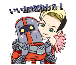 Woman Knight Sticker Part 2 sticker #9354276