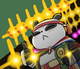 Muay Thai Panda1 (Eng) sticker #9354854