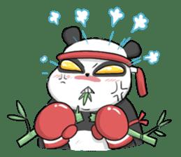 Muay Thai Panda1 (Eng) sticker #9354855