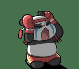 Muay Thai Panda1 (Eng) sticker #9354856