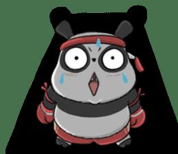 Muay Thai Panda1 (Eng) sticker #9354859
