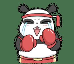 Muay Thai Panda1 (Eng) sticker #9354862