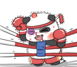 Muay Thai Panda1 (Eng) sticker #9354869