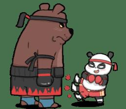 Muay Thai Panda1 (Eng) sticker #9354875