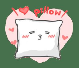 Mr. Pillow sticker #9366248