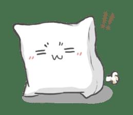 Mr. Pillow sticker #9366249