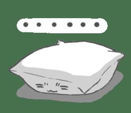 Mr. Pillow sticker #9366257