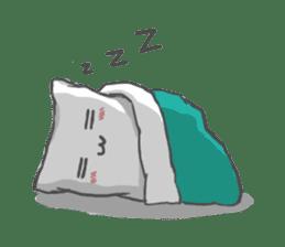 Mr. Pillow sticker #9366260