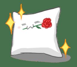 Mr. Pillow sticker #9366264