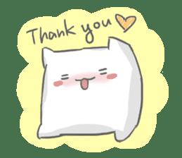 Mr. Pillow sticker #9366267