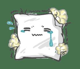 Mr. Pillow sticker #9366268