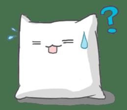 Mr. Pillow sticker #9366276