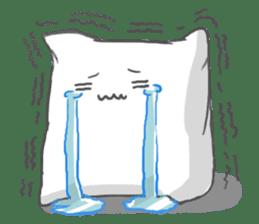 Mr. Pillow sticker #9366277