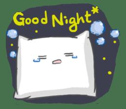 Mr. Pillow sticker #9366281