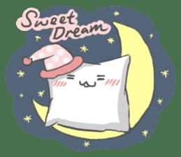 Mr. Pillow sticker #9366282