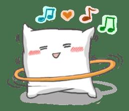 Mr. Pillow sticker #9366284