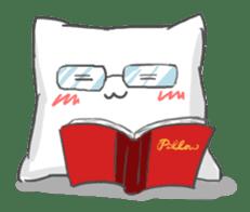 Mr. Pillow sticker #9366285
