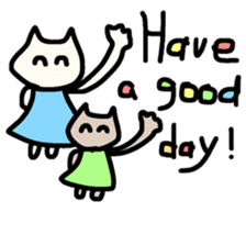 Smiley cats sticker #9370094