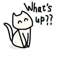 Smiley cats sticker #9370113