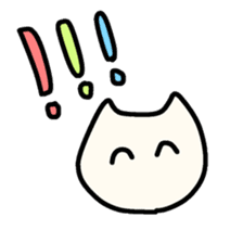 Smiley cats sticker #9370126