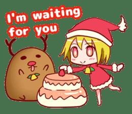 "Christmas Santa""kana""Sticker sticker #9370866"