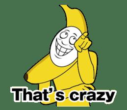 Forcibly banana2(English) sticker #9374976