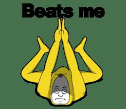 Forcibly banana2(English) sticker #9374982