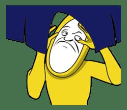 Forcibly banana2(English) sticker #9374990