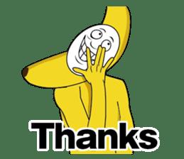 Forcibly banana2(English) sticker #9375000