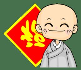 Little young monk part3 sticker #9380460