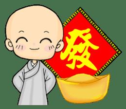 Little young monk part3 sticker #9380462