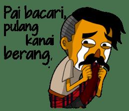 Minang Gombal sticker #9382424