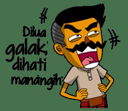 Minang Gombal sticker #9382429