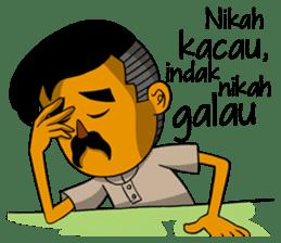 Minang Gombal sticker #9382432