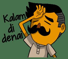 Minang Gombal sticker #9382447