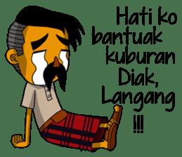 Minang Gombal sticker #9382453