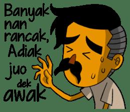 Minang Gombal sticker #9382454