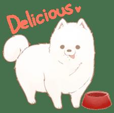 WeatherWea-Pomeranian's days. sticker #9382909