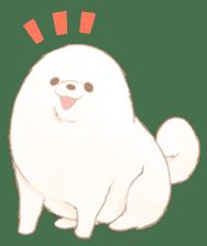WeatherWea-Pomeranian's days. sticker #9382917