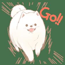 WeatherWea-Pomeranian's days. sticker #9382918