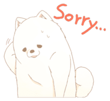 WeatherWea-Pomeranian's days. sticker #9382935