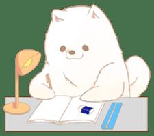 WeatherWea-Pomeranian's days. sticker #9382936