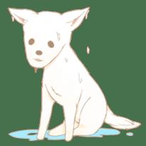 WeatherWea-Pomeranian's days. sticker #9382940