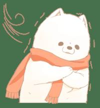 WeatherWea-Pomeranian's days. sticker #9382941