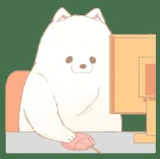 WeatherWea-Pomeranian's days. sticker #9382942