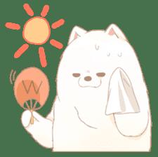 WeatherWea-Pomeranian's days. sticker #9382943