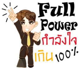 Cartoon Boy anime drawing v.housekeeper sticker #9384038