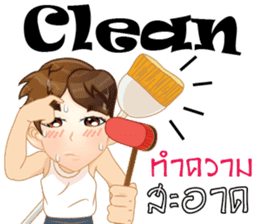 Cartoon Boy anime drawing v.housekeeper sticker #9384047