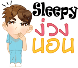Cartoon Boy anime drawing v.housekeeper sticker #9384061